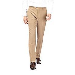 Burton - Montague burton 100% wool camel  suit trousers