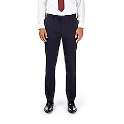 Burton - Montague burton navy slim fit suit trousers