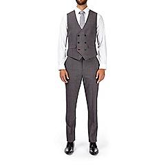 Burton - Montague burton dark grey slim fit waistcoat
