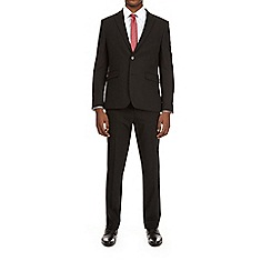 Burton - Black stretch essential slim fit suit jacket