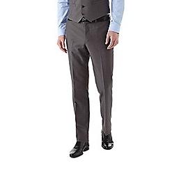 Burton - Slim fit mid grey suit trousers