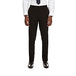 Burton - Black stretch essential slim fit suit trousers