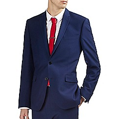Burton - Indigo essential slim fit suit jacket