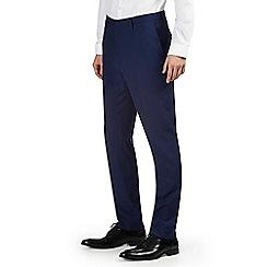 Burton - Indigo essential slim fit suit trousers