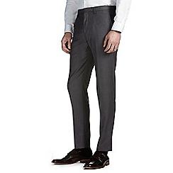 Burton - Grey essential slim fit suit trousers