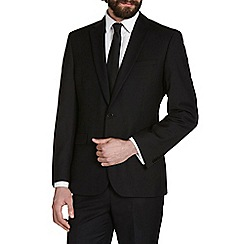 Burton - Black essential tailored fit suit jacket