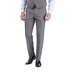 Burton - Charcoal grey tailored fit suit trousers