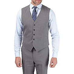 Burton - Charcoal grey tailored fit waistcoat