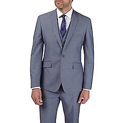 Burton - 2 Piece Steel Blue Tailored Fit Suit