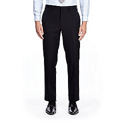Burton - Navy tailored fit twill suit trousers