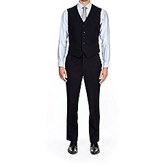 Burton - Navy tailored fit twill waistcoat