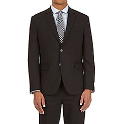 Burton - Black tailored fit with stretch suit jacket