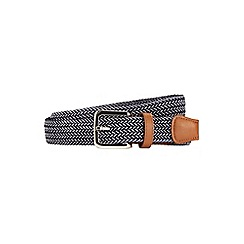 Burton - Navy stretch belt