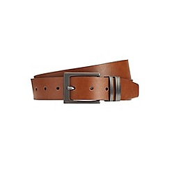 Burton - Tan keeper detail belt