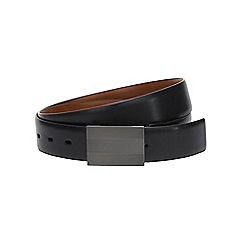 Burton - Black reversable textured plate belt