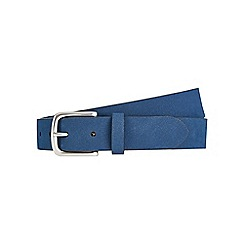Burton - Teal suede belt