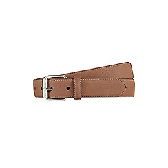 Burton - Stone suede belt