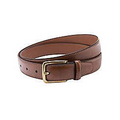 Burton - Slim brown belt