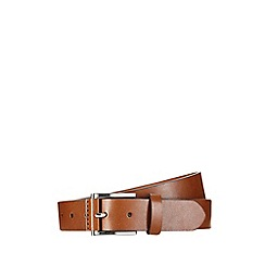Burton - Brown tab detail belt