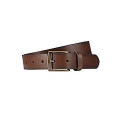 Burton - Brown textured belt