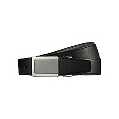Burton - Black textured reversible belt
