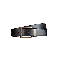 Burton - Black matt gold reverse belt
