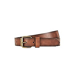 Burton - Tan slim jeans belt