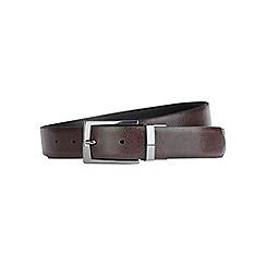 Burton - Brown boxed reversible belt