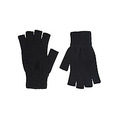 Burton - Black fingerless gloves