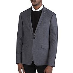 Burton - Mid grey puppytooth blazer