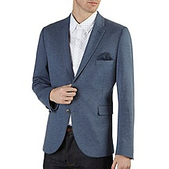 Burton - Indigo marl jersey blazer