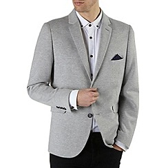 Burton - Light grey marl jersey blazer