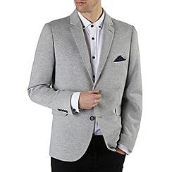 Burton - Light grey marl jersey blazer