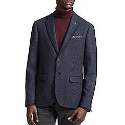 Burton - Montague burton navy wool blazer