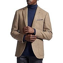 Burton - Montague burton oatmeal wool blazer