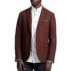 Burton - Montague burton rust wool blazer