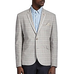 Burton - Grey checked blazer
