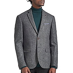 Burton - Montague burton charcoal wool blazer