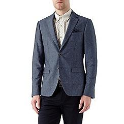 Burton - Indigo blazer with fleck