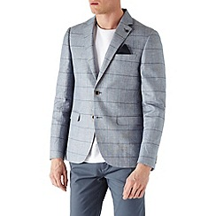 Burton - Windowpane check blazer