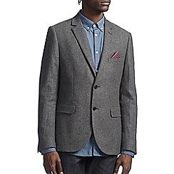 Burton - Grey textured blazer