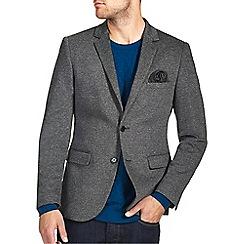 Burton - Charcoal jersey blazer