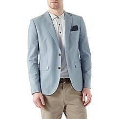 Burton - Light blue slub blazer