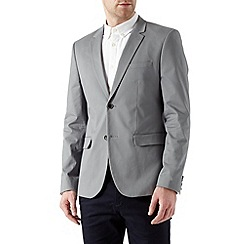 Burton - Grey cotton blazer