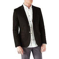 Burton - Black cotton blazer