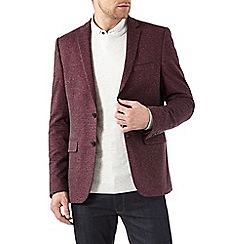 Burton - Red jersey blazer