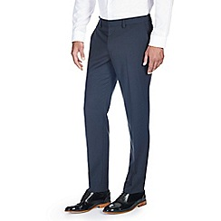 Burton - Skinny fit steel blue formal trousers
