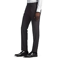 Burton - Skinny fit brown puppytooth formal trousers