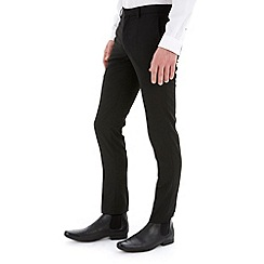 Burton - Black skinny fit formal trousers