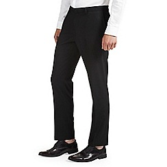 Burton - Skinny stretch black formal trousers
